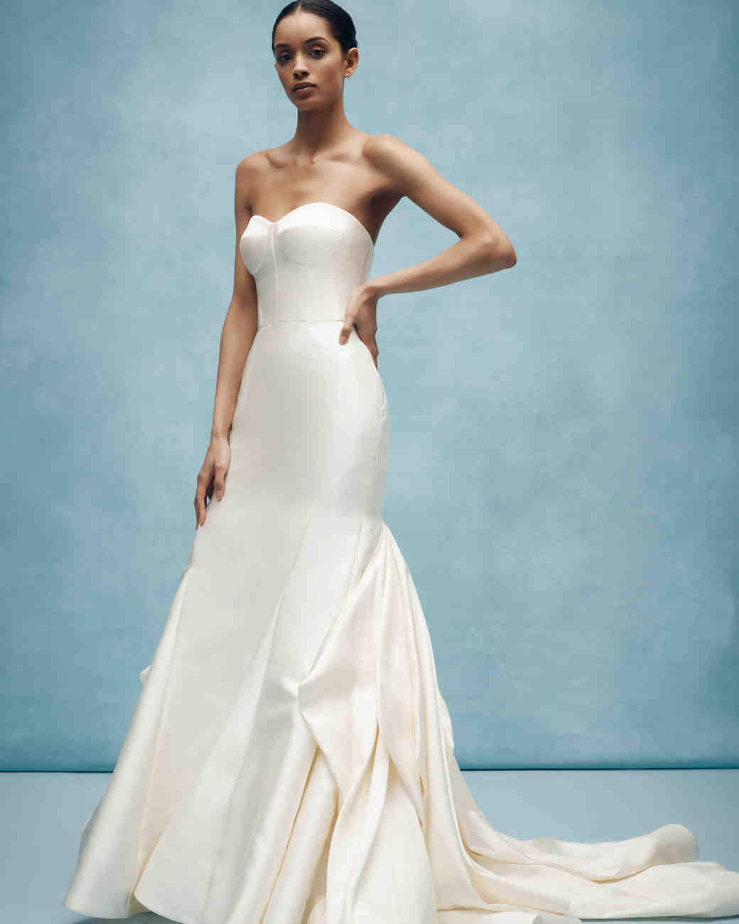 anne barge strapless mermaid wedding dress spring 2020