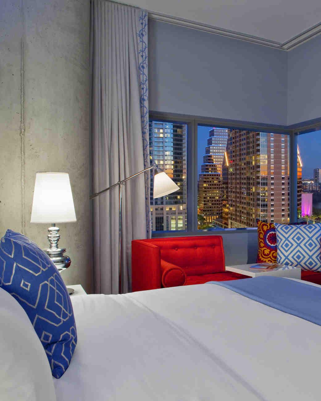 W Hotel room Austin, Texas