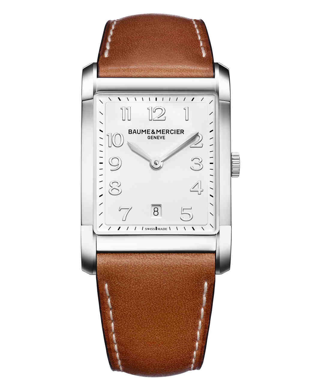 watches online watch women leather rsp brown white strap s pdp at johnlewis buyrotary rotary portland rectangular main