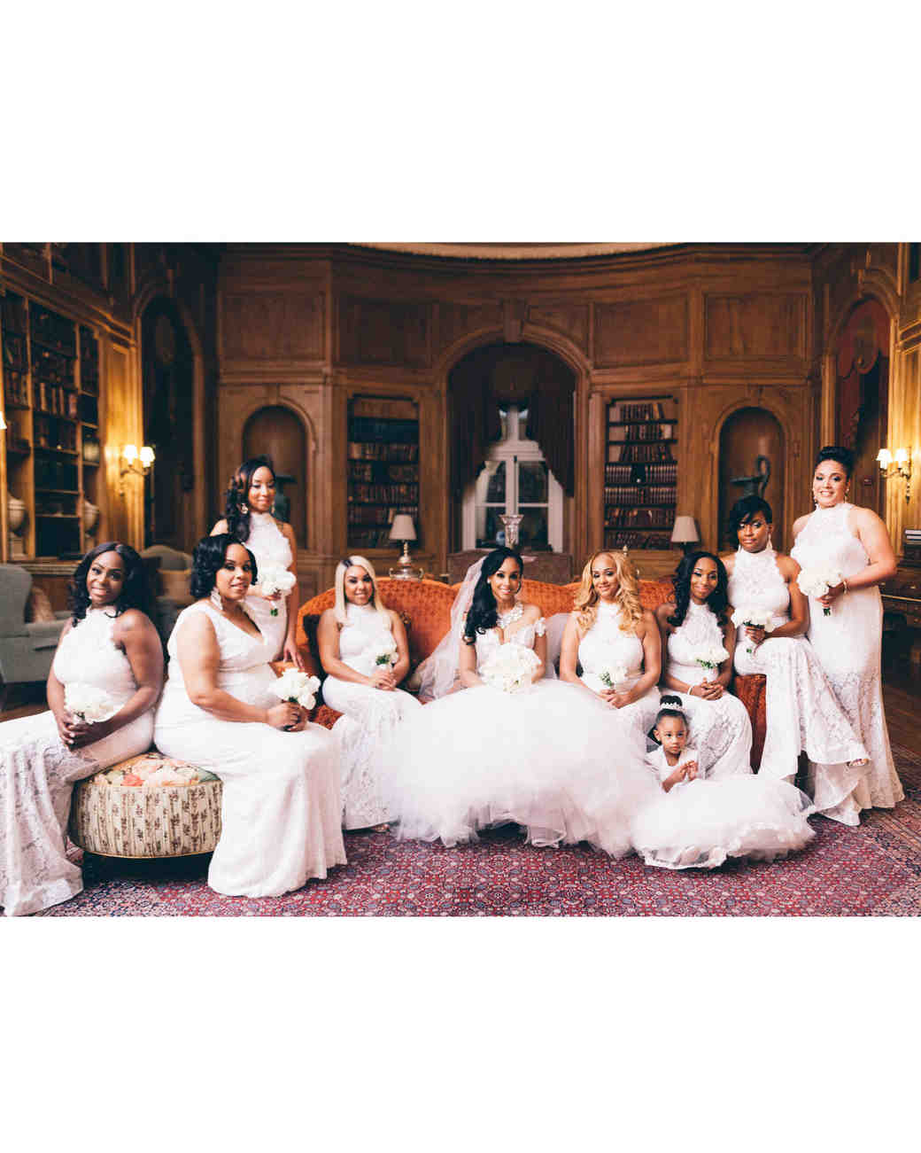 best dressed bridesmaids flavio d