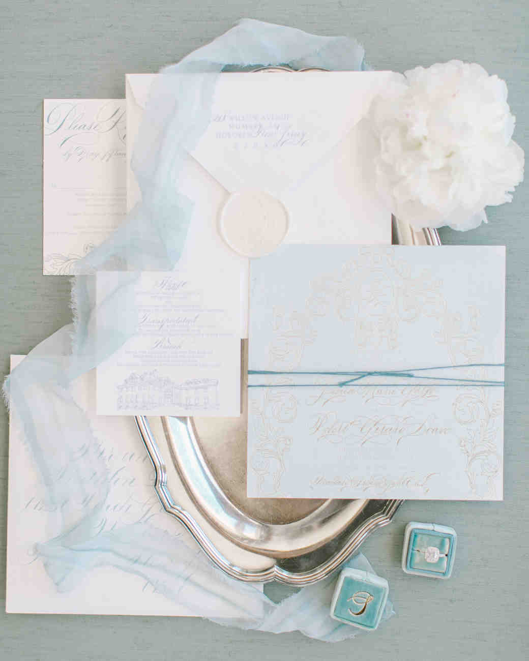 blue wedding ideas love and light