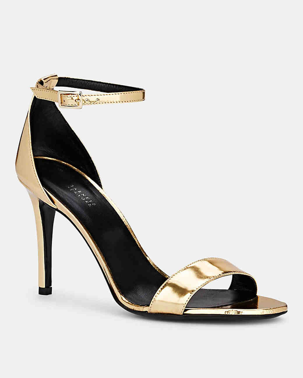 patent leather ankle-strap sandals bridesmaid shoes