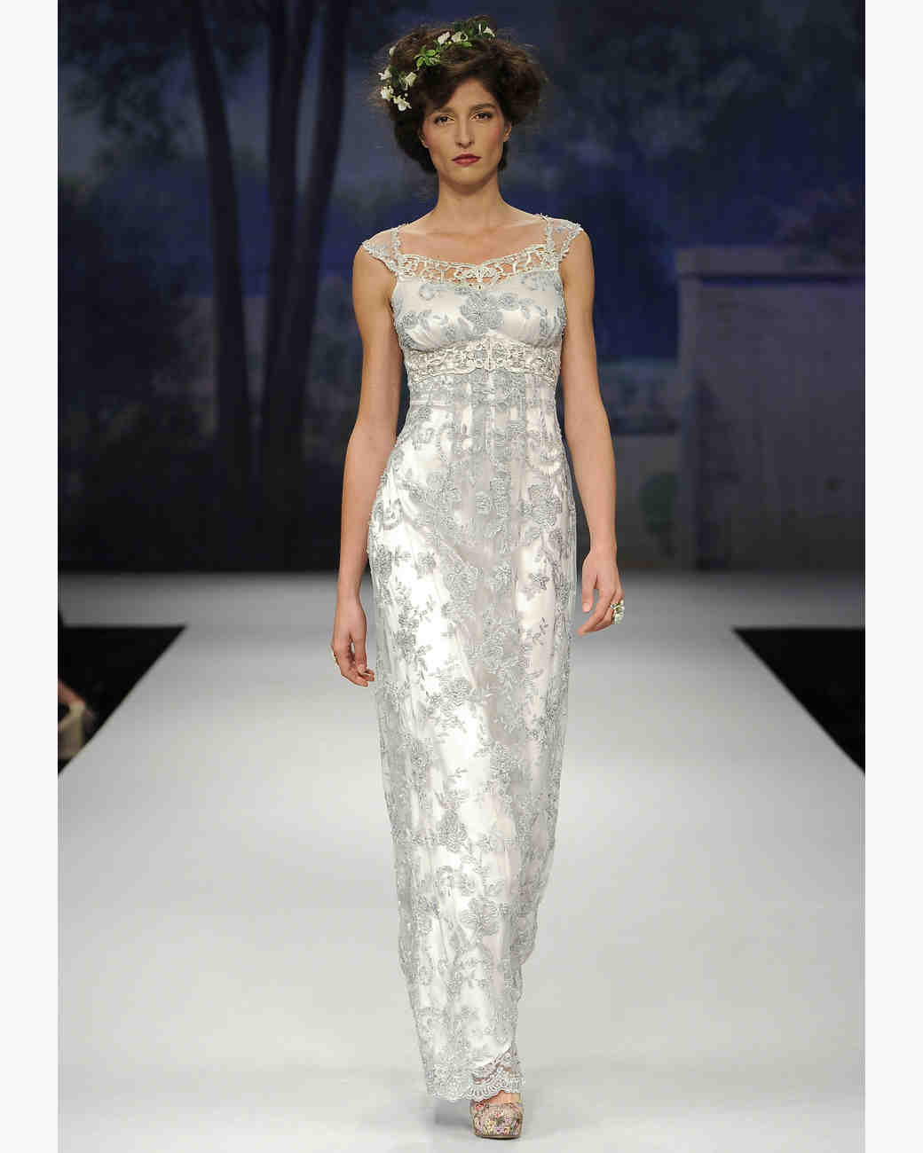 Glamorous Old Hollywood-Style Wedding Dresses, Fall 2012 Bridal ...