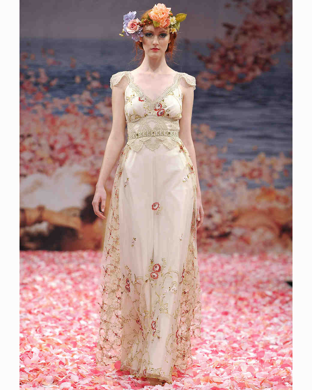 Wedding Dresses With Floral Embellishments, Fall 2013 | Martha ...