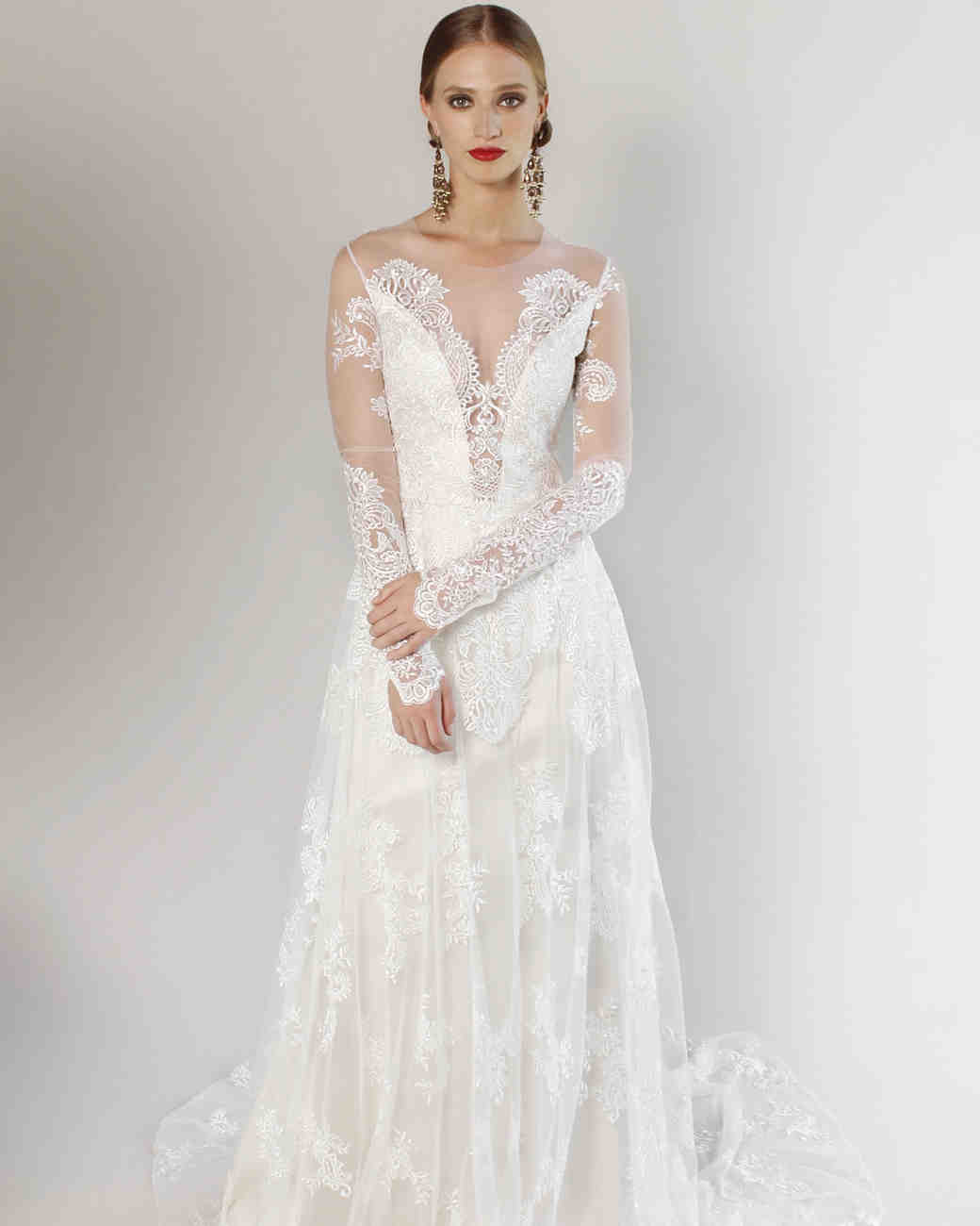 Claire Pettibone Wedding Dress: Claire Pettibone Spring 2017 Wedding Dress Collection