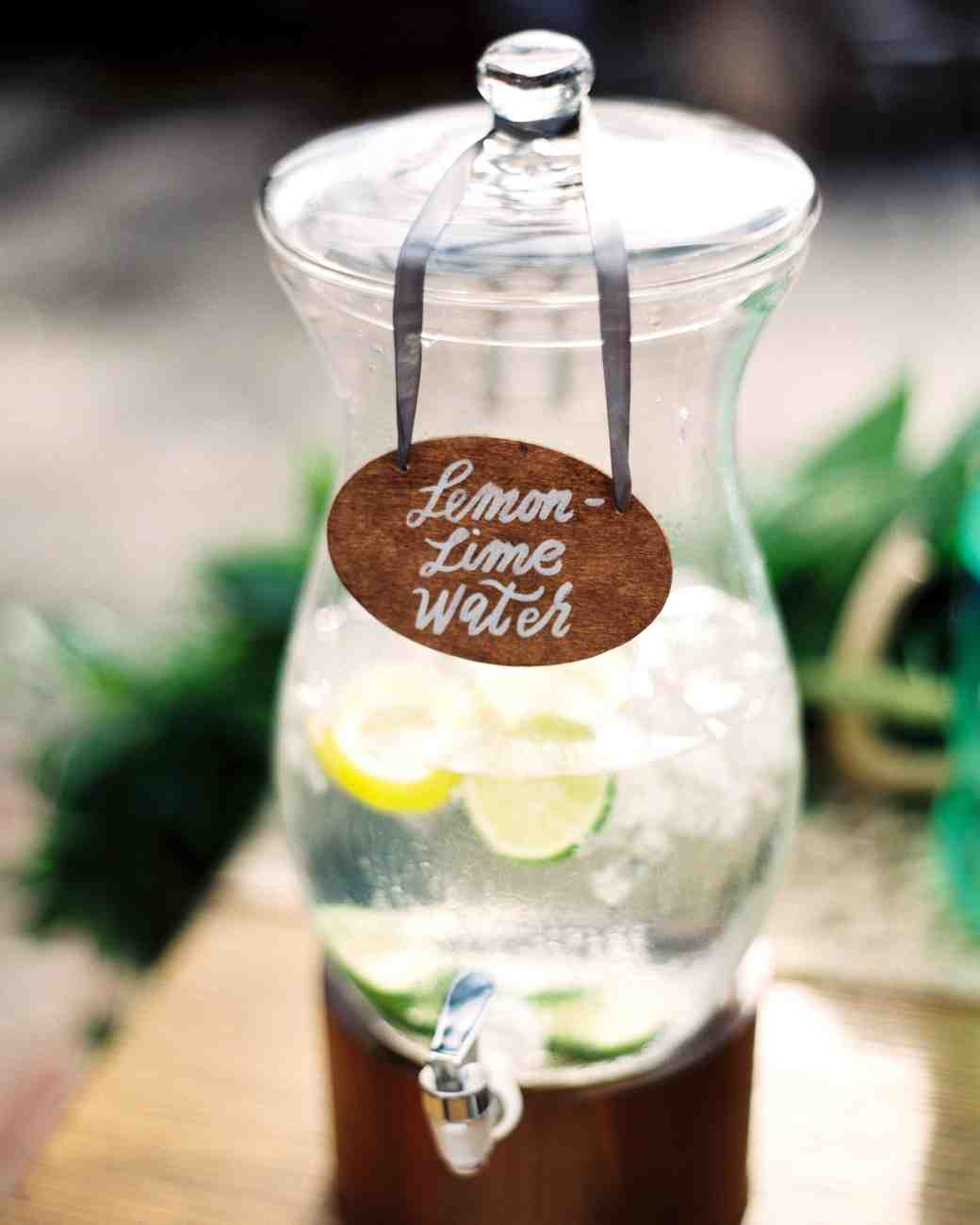lemon lime water jug