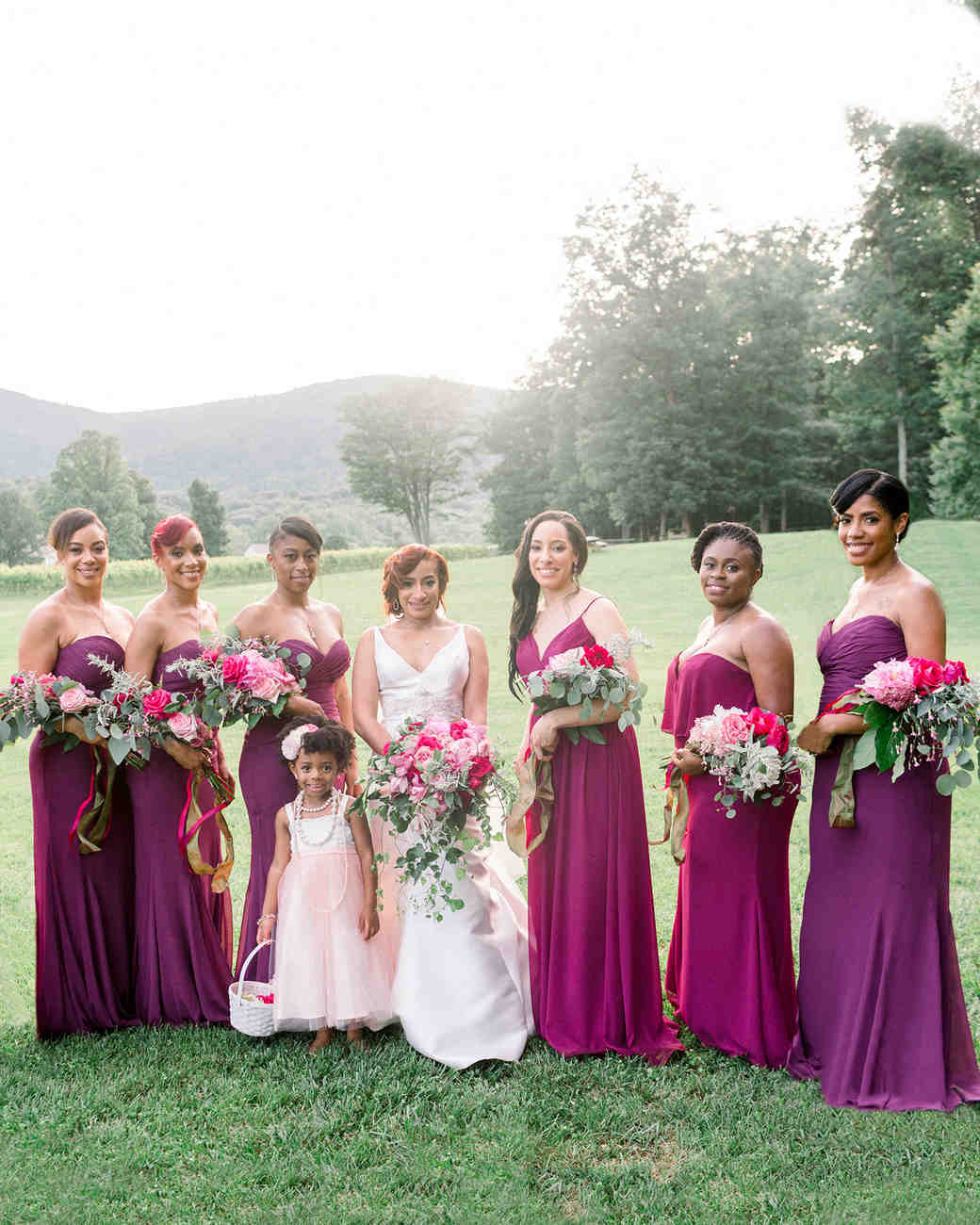 dawn rich wedding bridesmaids