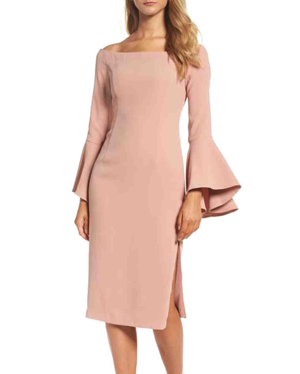 Best dresses for fall wedding ideas styles ideas 2018 for Best dresses to wear to a wedding