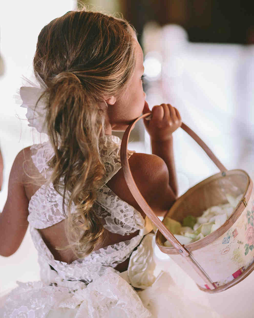 Wedding Flower Girl Hairstyles