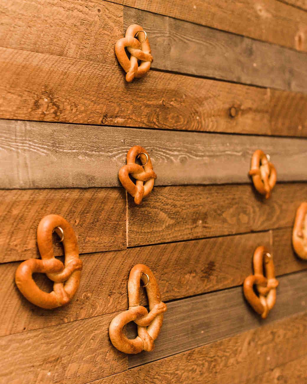 pretzel food wall