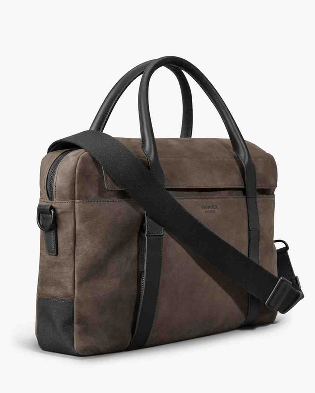 groom gift guide shinola work bag