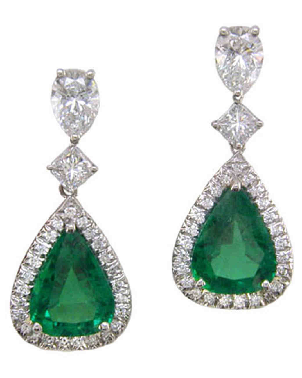 hanging earring ncx om emerald er diamond evergreen earrings dangling