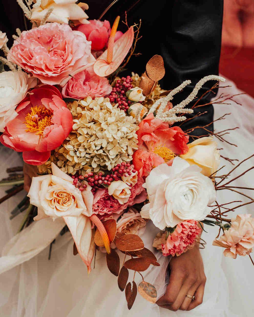 hydrangea bouquets victoria black