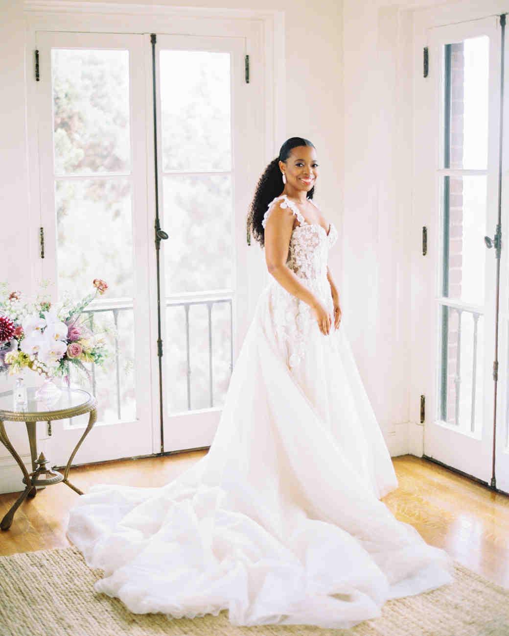 jamie and michael wedding bride dress