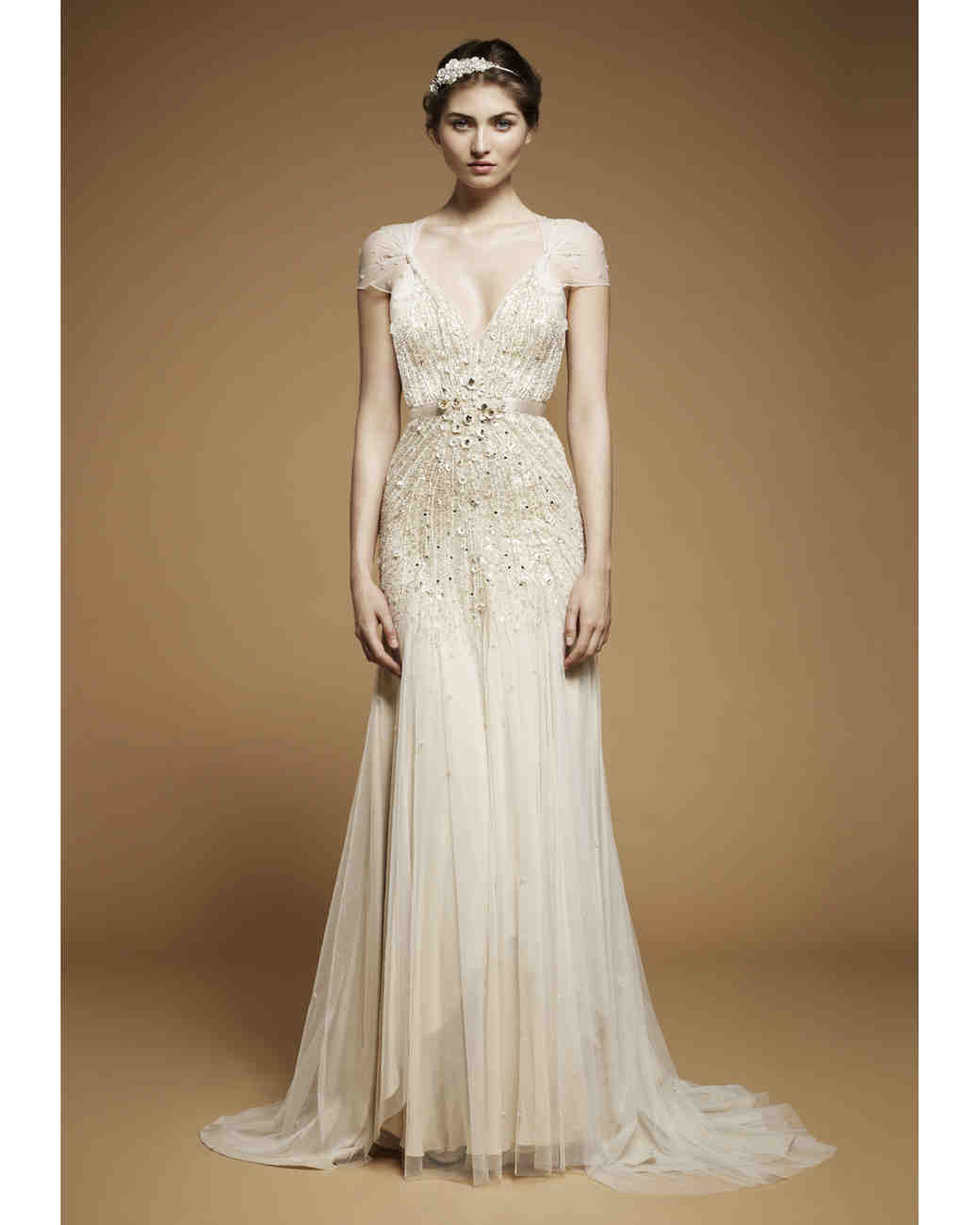 Glamorous Old Hollywood Style Wedding Dresses Fall 2012