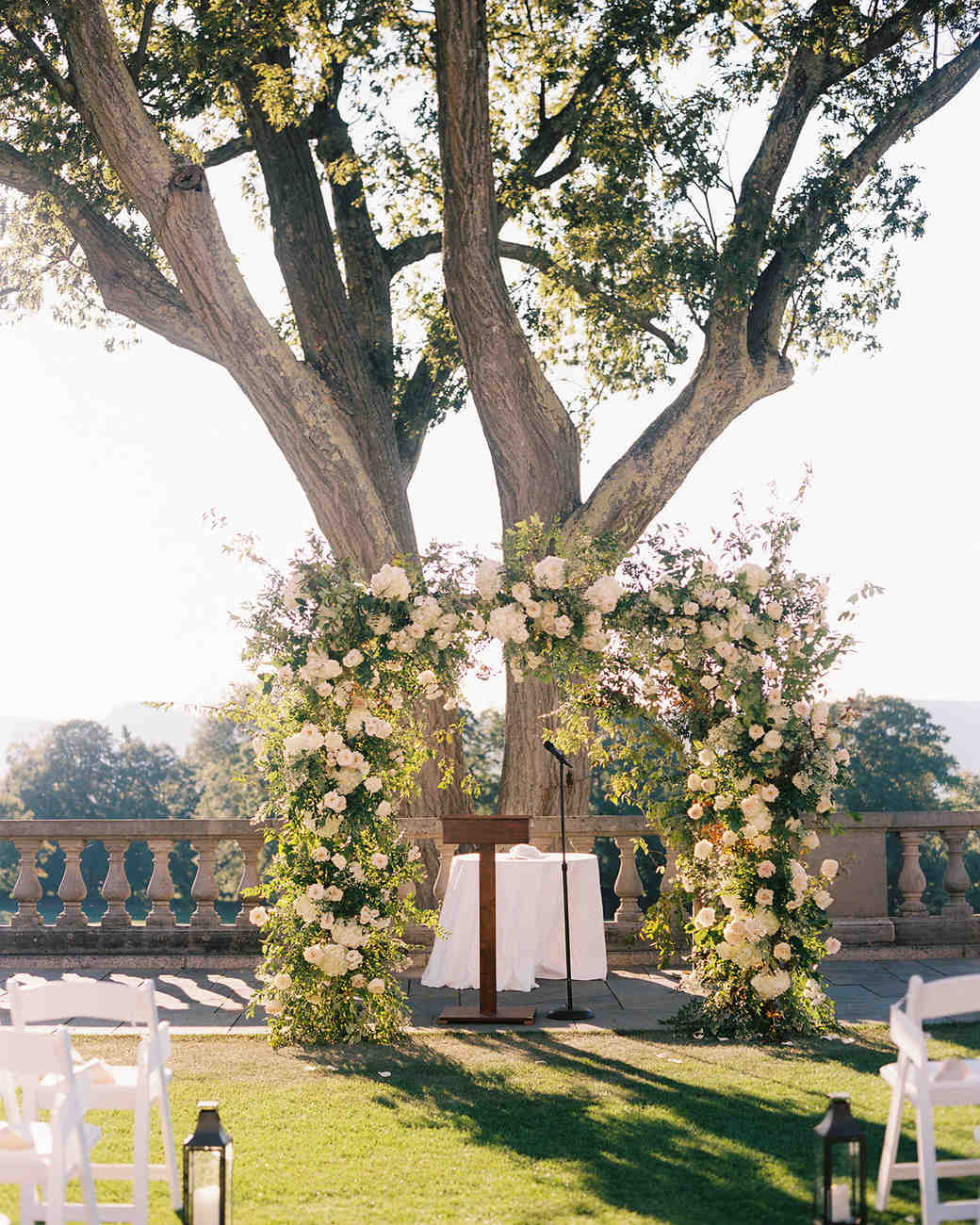 jessica brian wedding chuppah