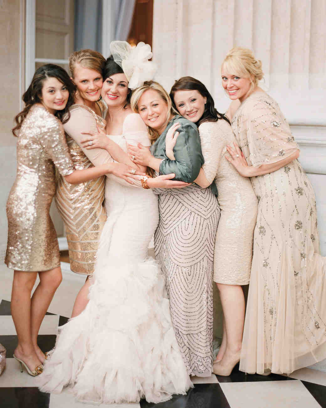 12 new rules for dressing your bridesmaids martha stewart weddings let em shine ombrellifo Choice Image