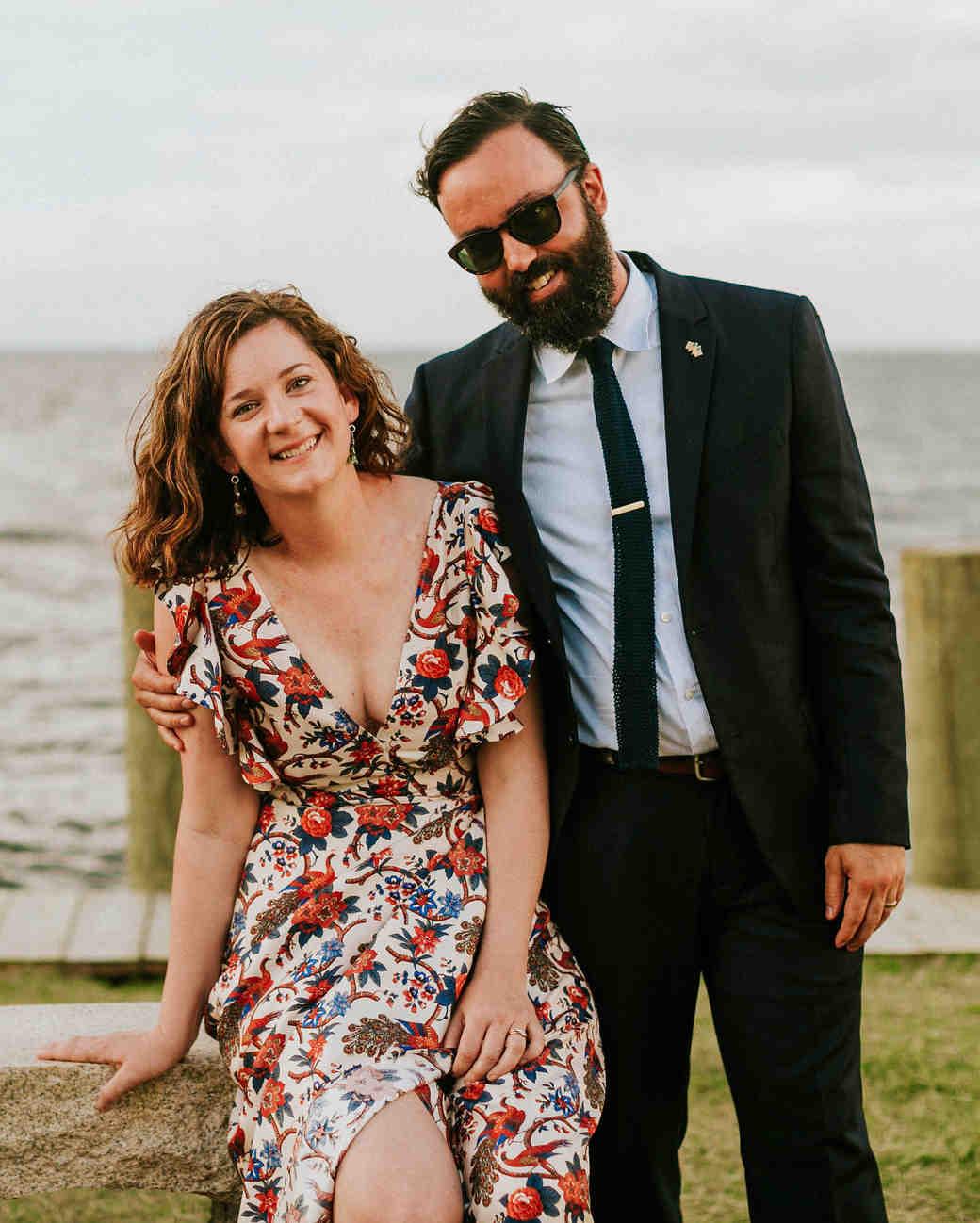 leah michael wedding friends guests