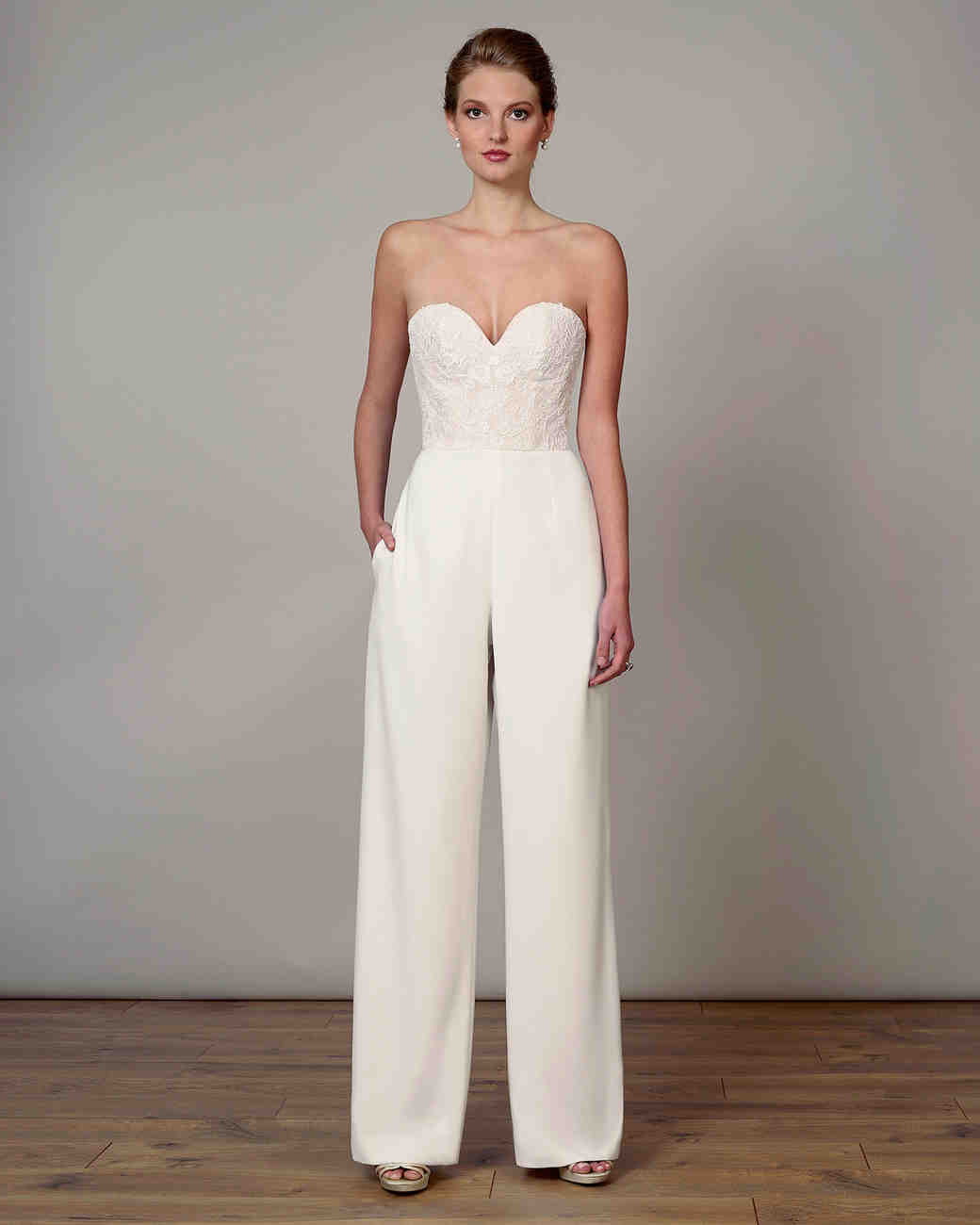 63 Chic Wedding Suits For Brides Martha Stewart Weddings