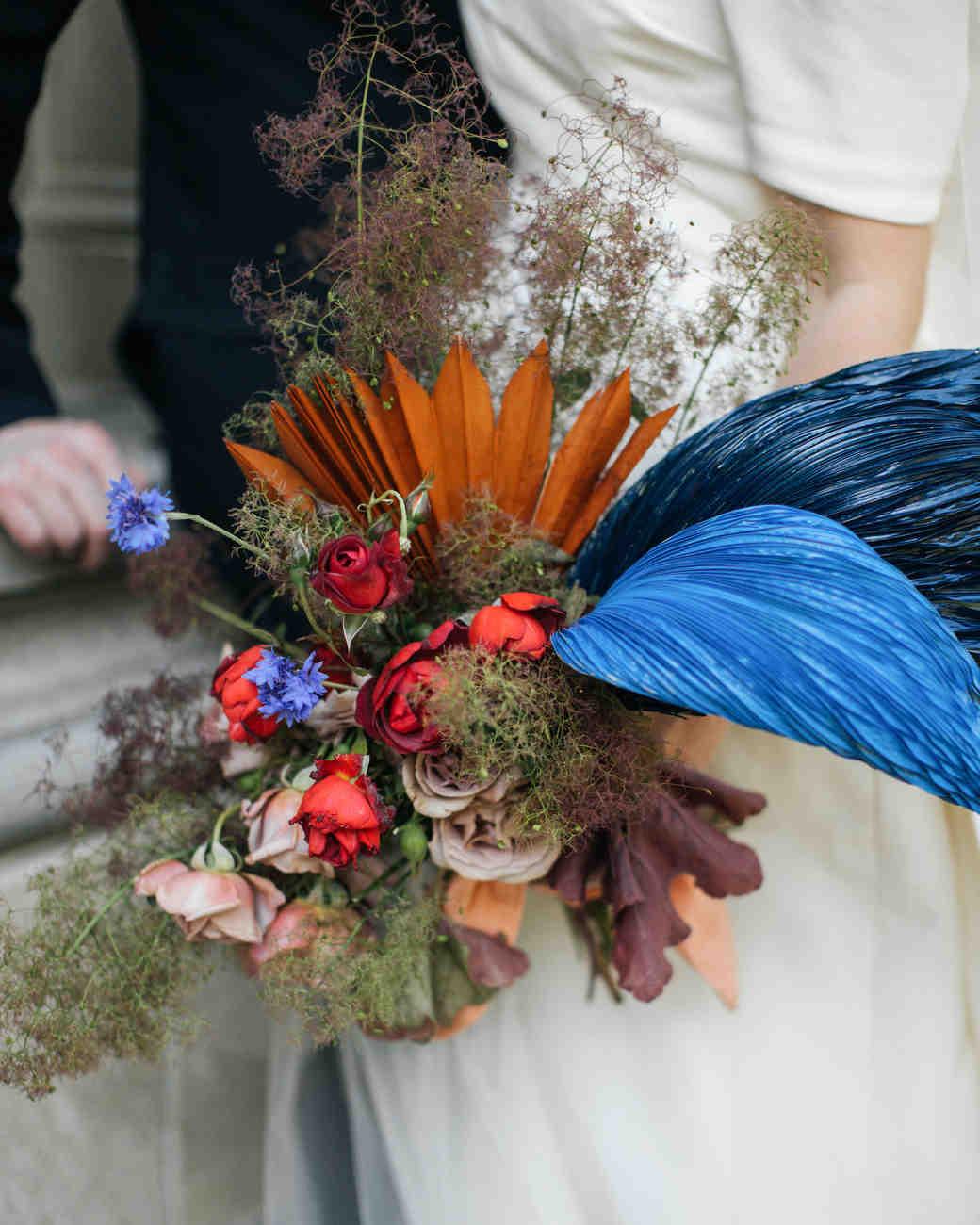 Unique Non-Floral Wedding Bouquet Ideas