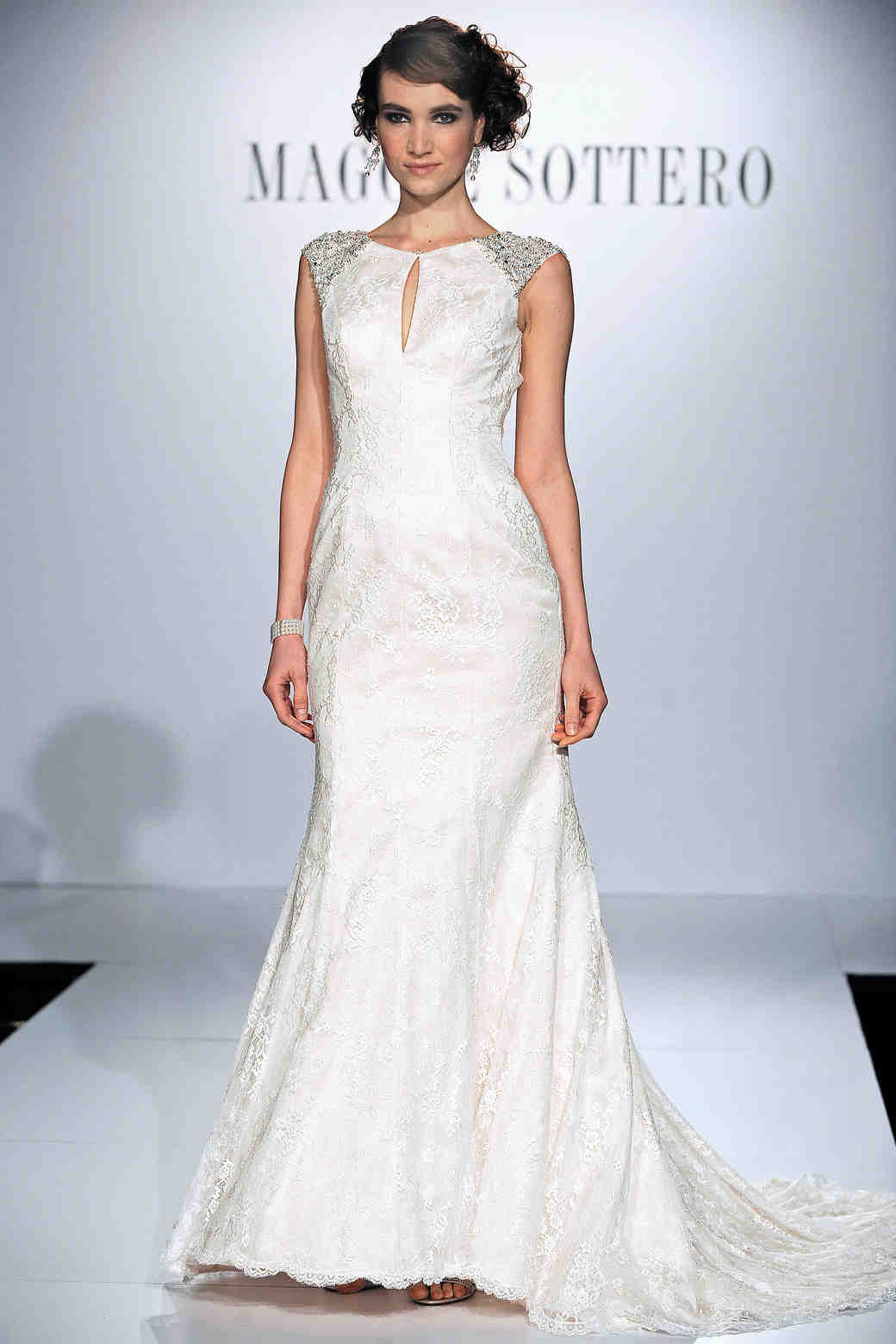 Cap Sleeve Wedding Dresses, Spring 2014 | Martha Stewart Weddings