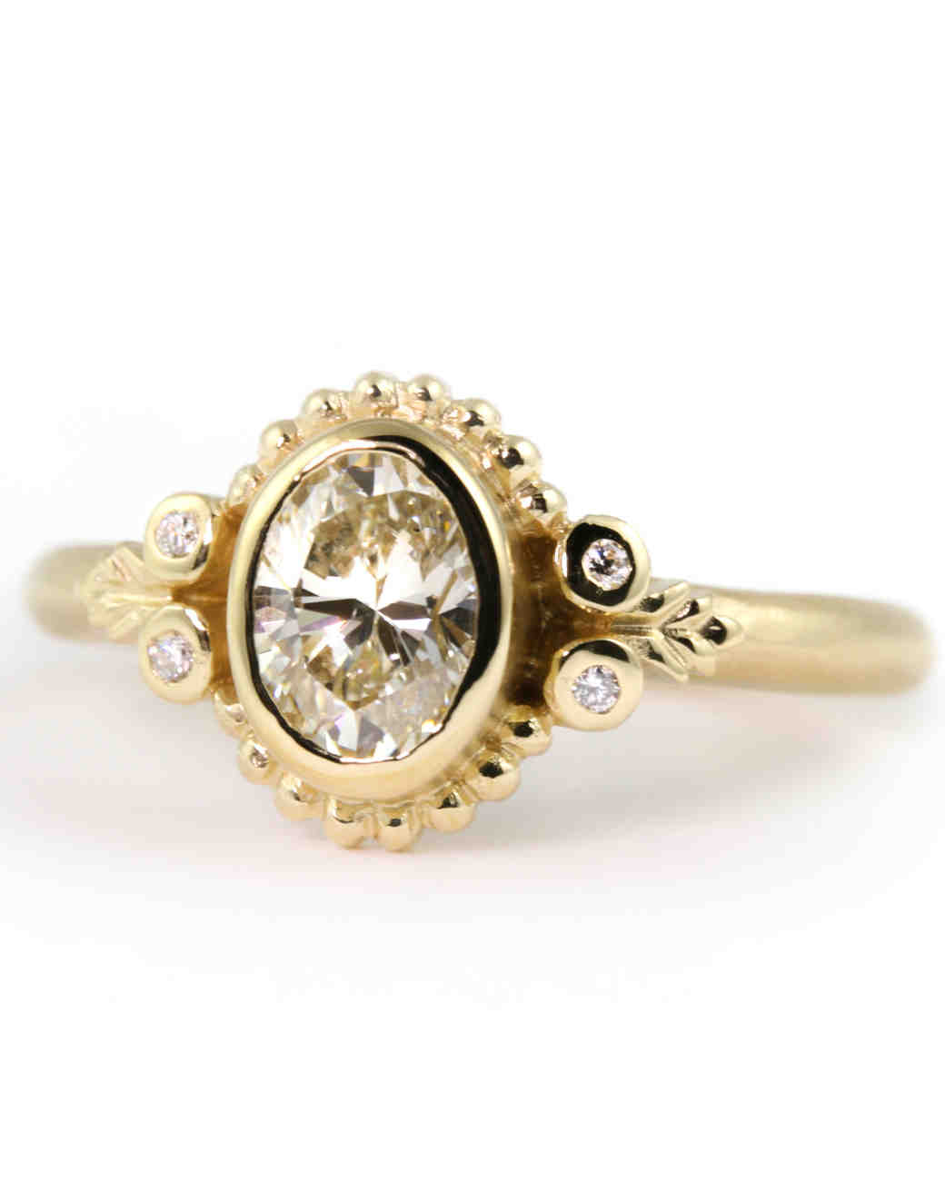 Megan Thorne Oval Engagement Ring