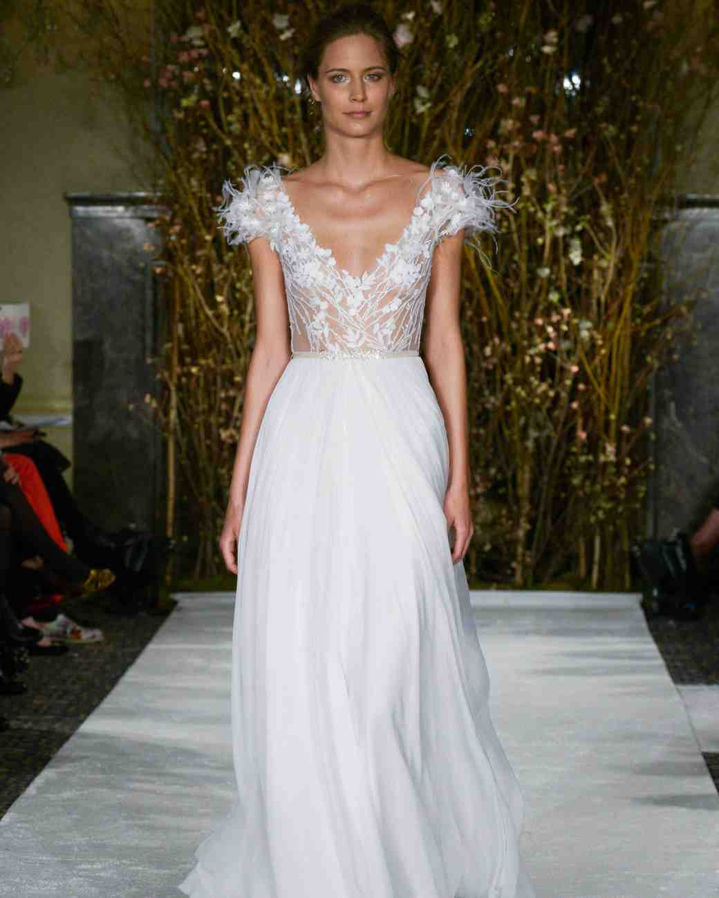 Mira Zwillinger sexy wedding dress