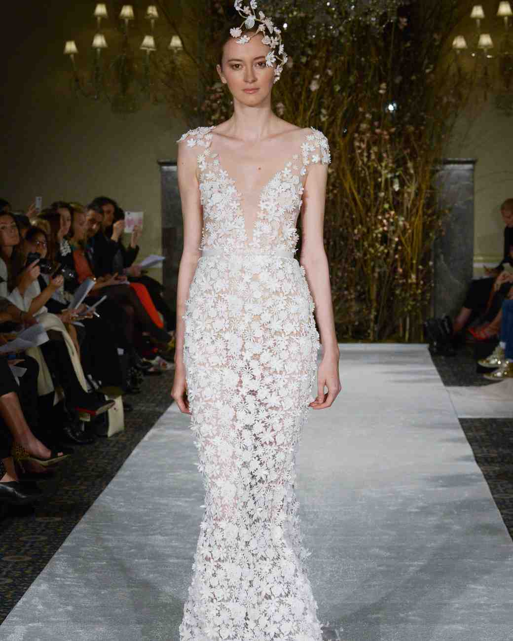 "Mira Zwillinger ""Noelle"" Mermaid Gown"