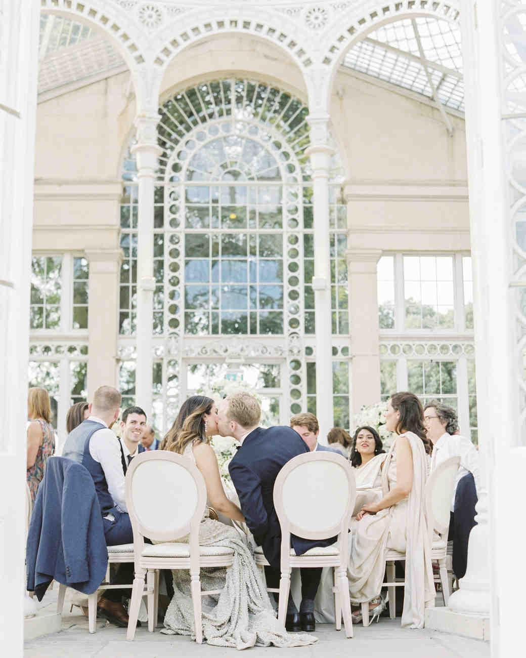 momina jack wedding reception kiss