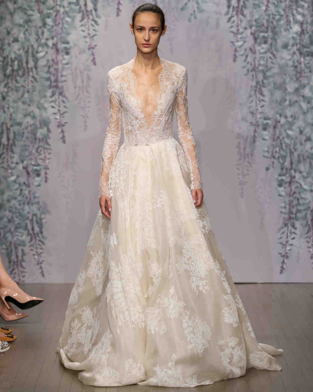 Monique Lhuillier Fall 2016 Wedding Dress Collection | Martha ...