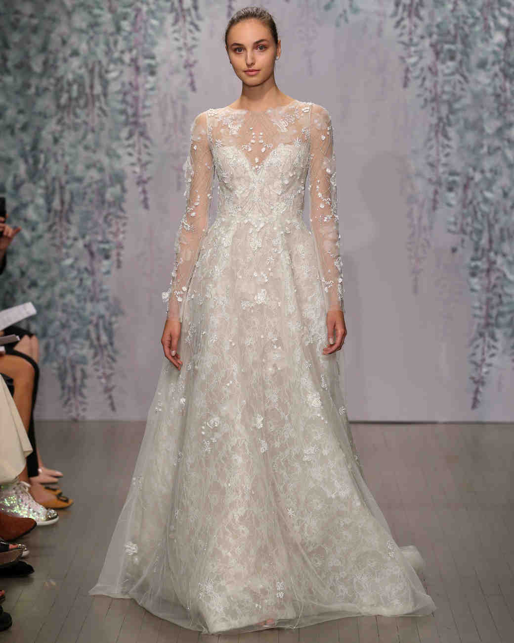 Wedding Gowns: Monique Lhuillier Fall 2016 Wedding Dress Collection