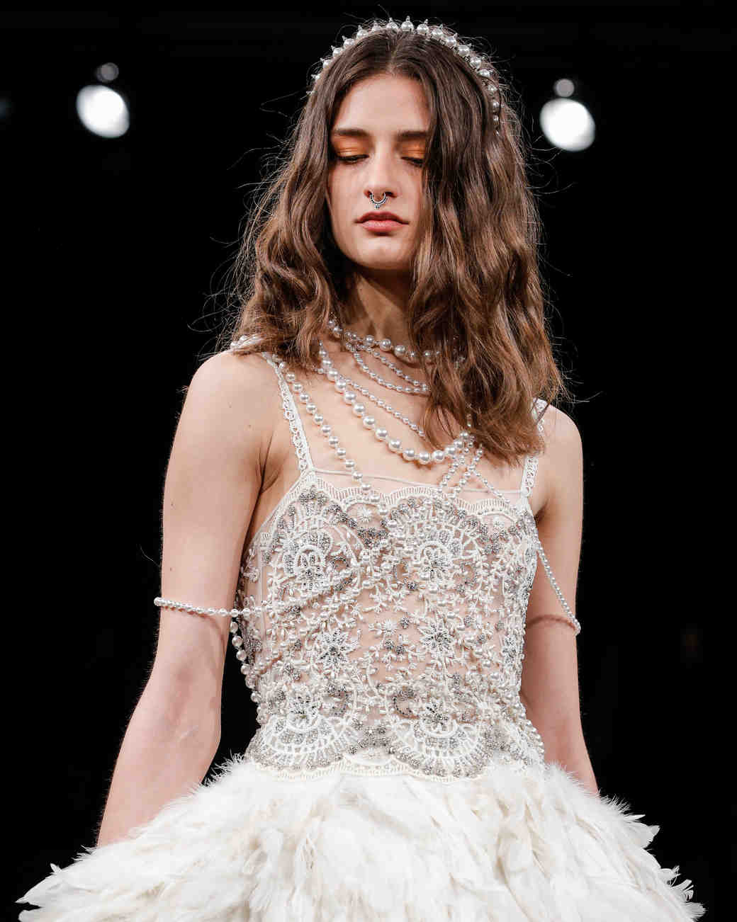 Naeem Khan Bridal Fashion Week Spring 2018 Beauty Look