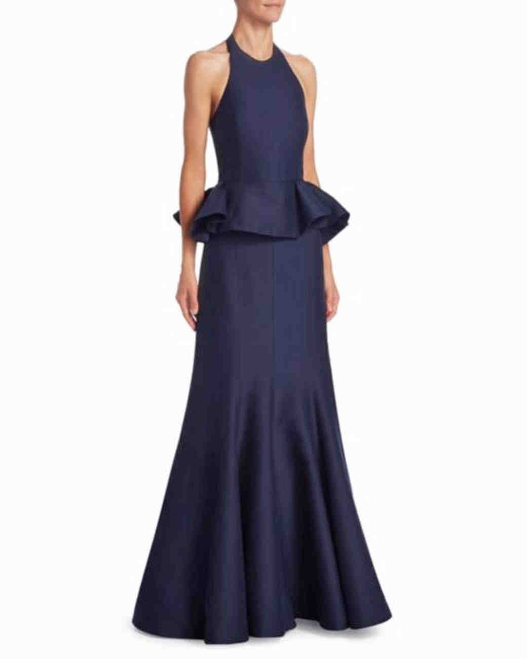 hair styles for mother of the bride 35 navy dresses for classic mothers of the and groom 4050 | navy mob dresses halston heritage 0518 vert