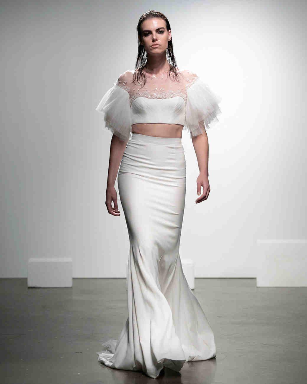 21 Wedding Dresses   50 Two Piece Wedding Dresses Martha Stewart Weddings