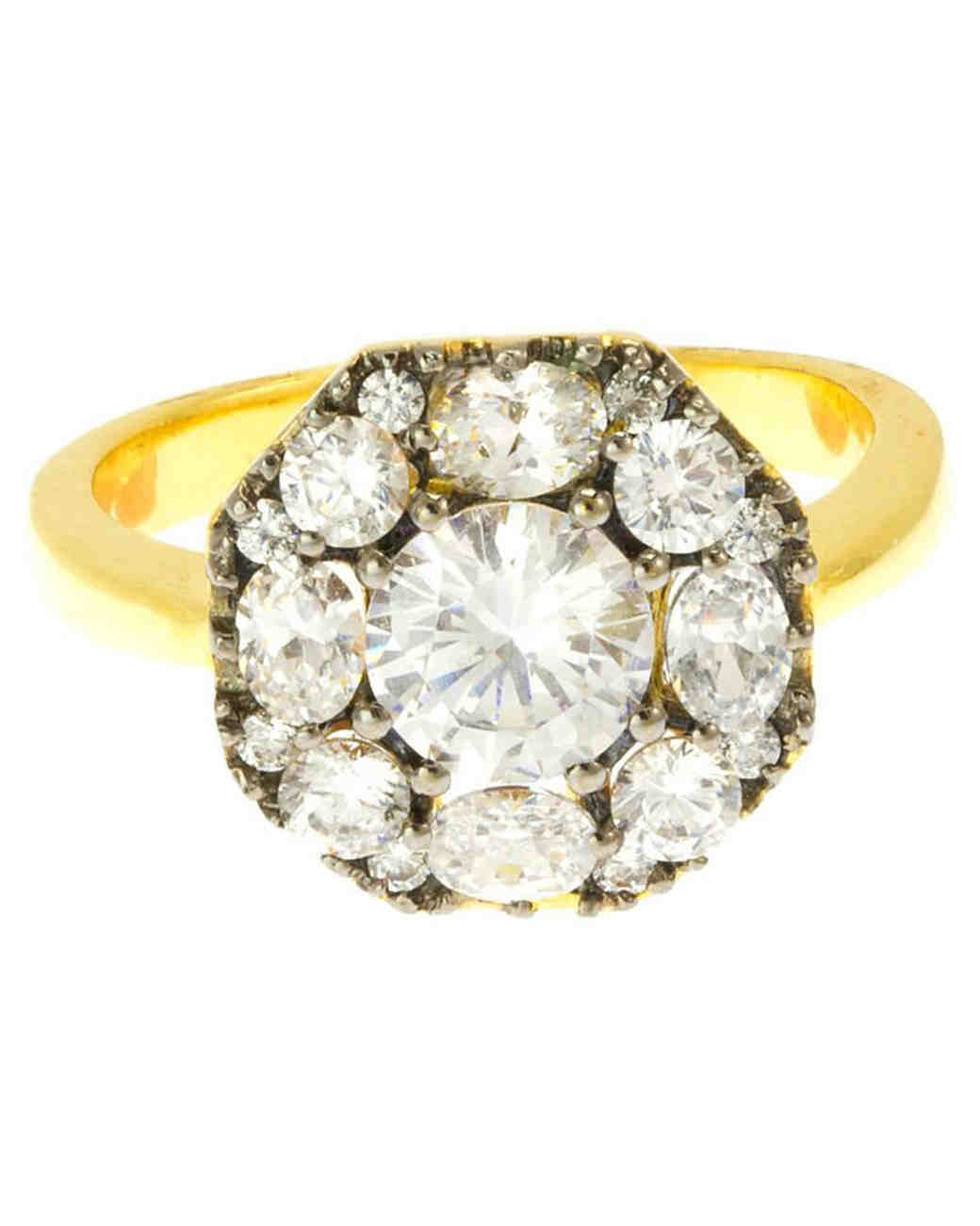 Suz Somersall Edwardian Octagon Ring