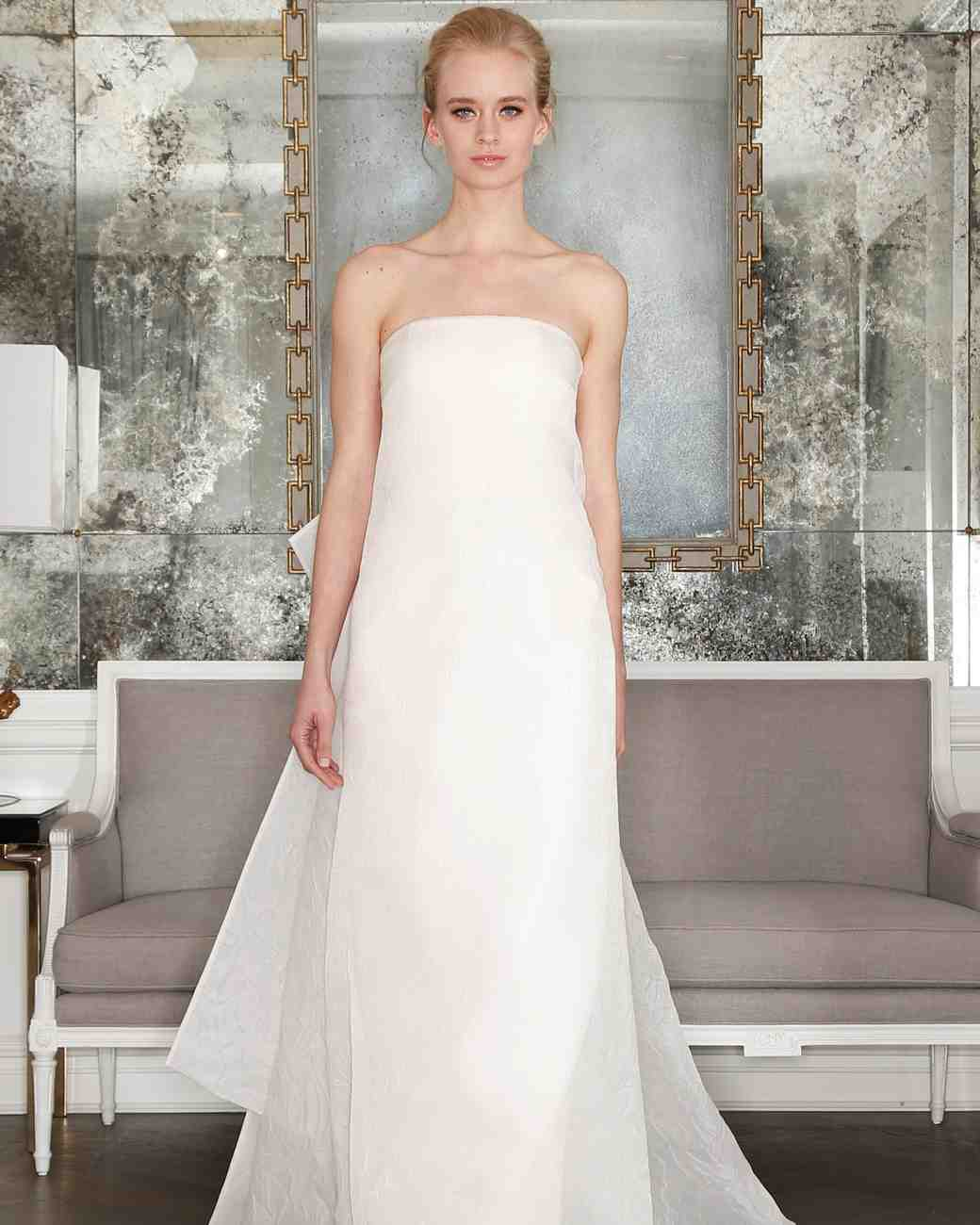 Romona Keveza Simple Wedding Dress