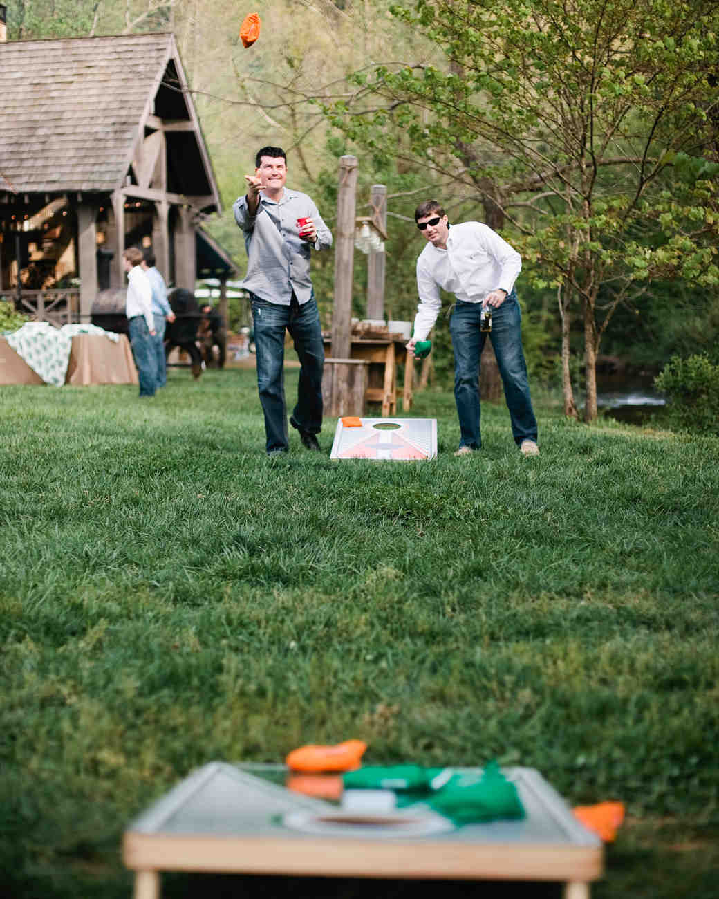 Sally and Christian\'s Rustic Outdoor Rehearsal Dinner at Blackberry ...