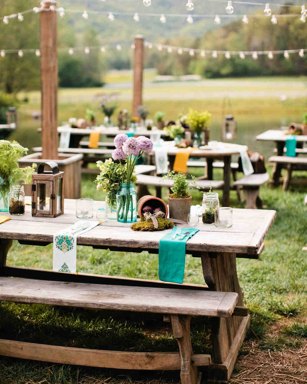 The Location and Style & The Etiquette of Wedding Rehearsal Dinners | Martha Stewart Weddings