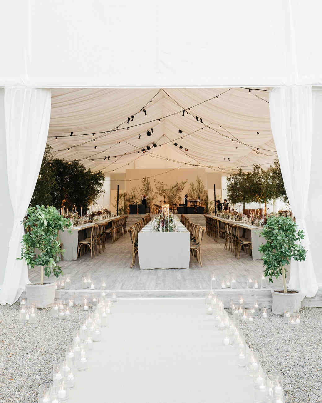 sara sam italy wedding tent