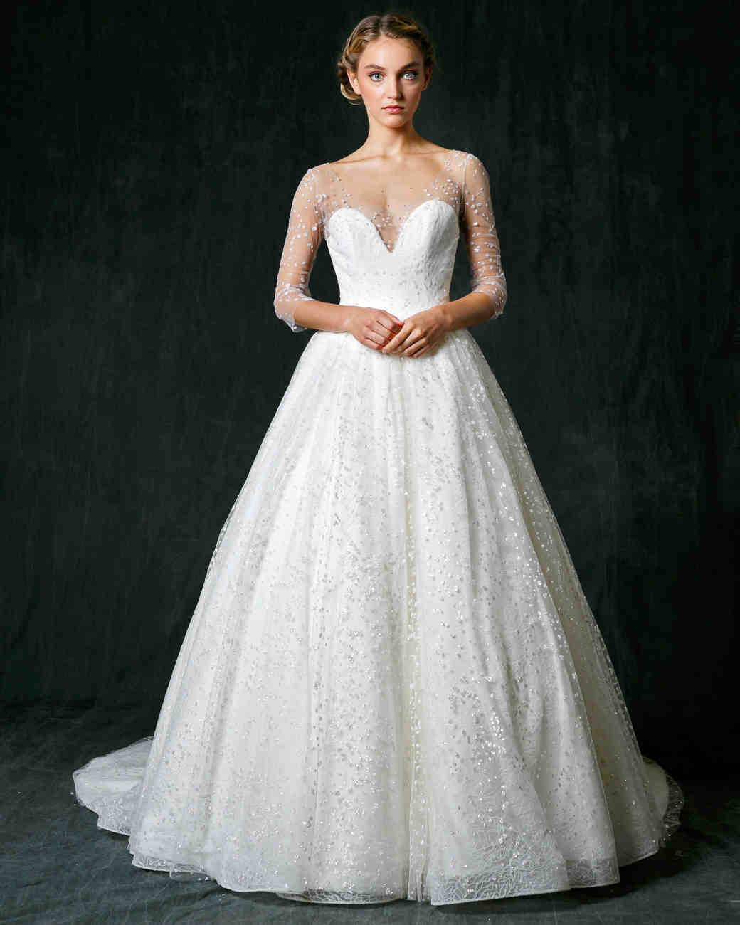 Sareh Nouri Fall 2017 Wedding Dress Collection