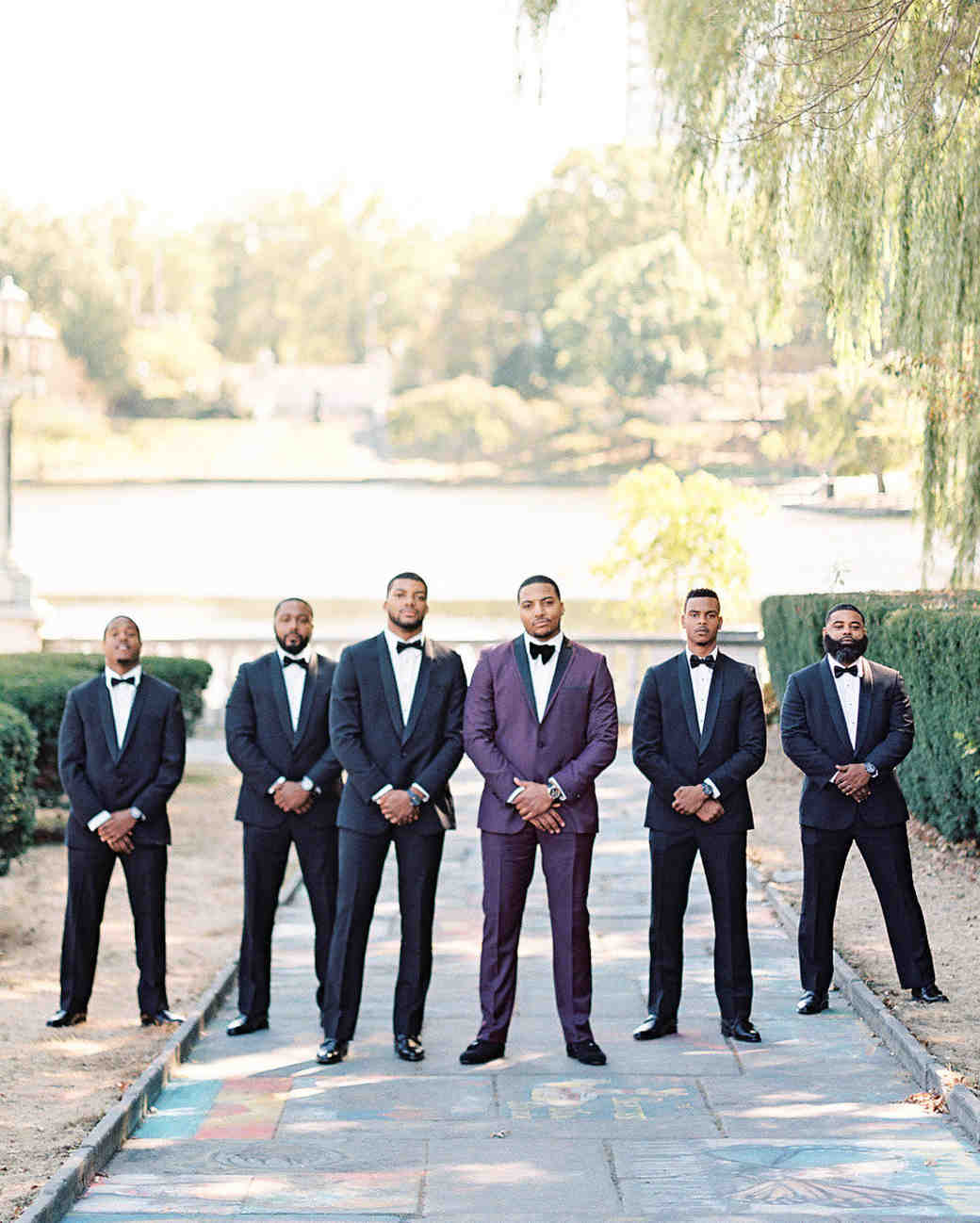 shanice & stephen wedding groomsmen