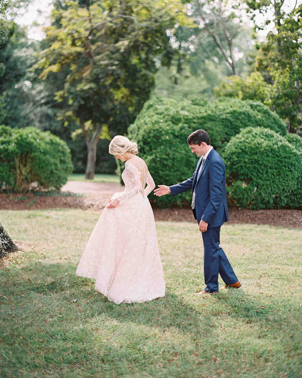shelby preston wedding first look