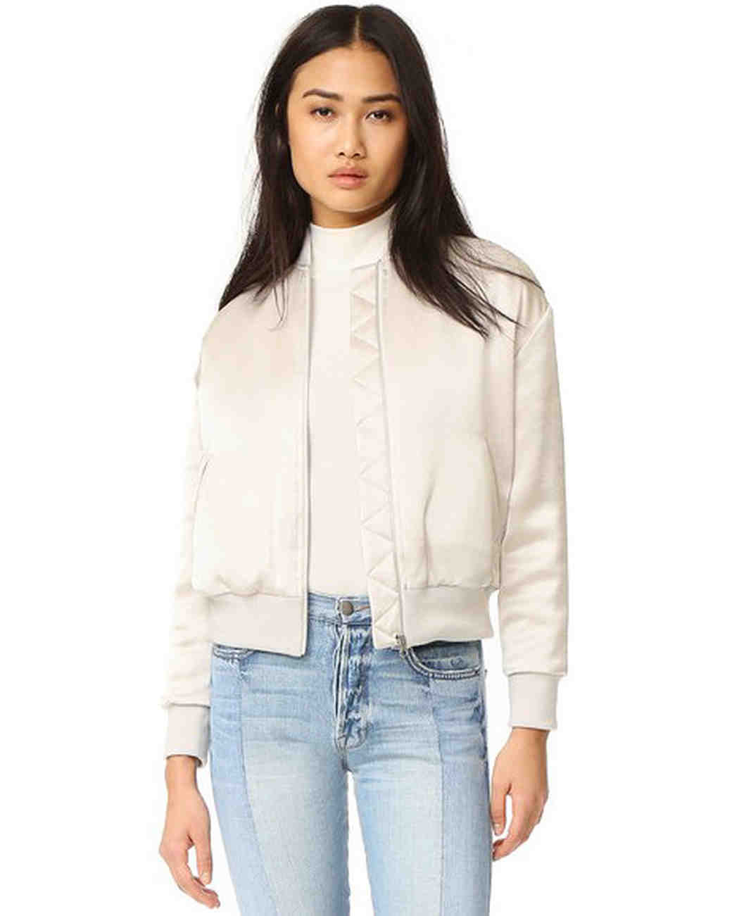bridal bomber jackets