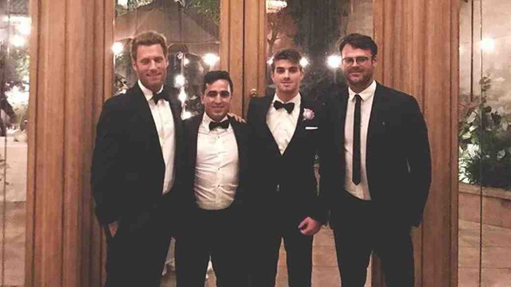 The Chainsmokers at wedding
