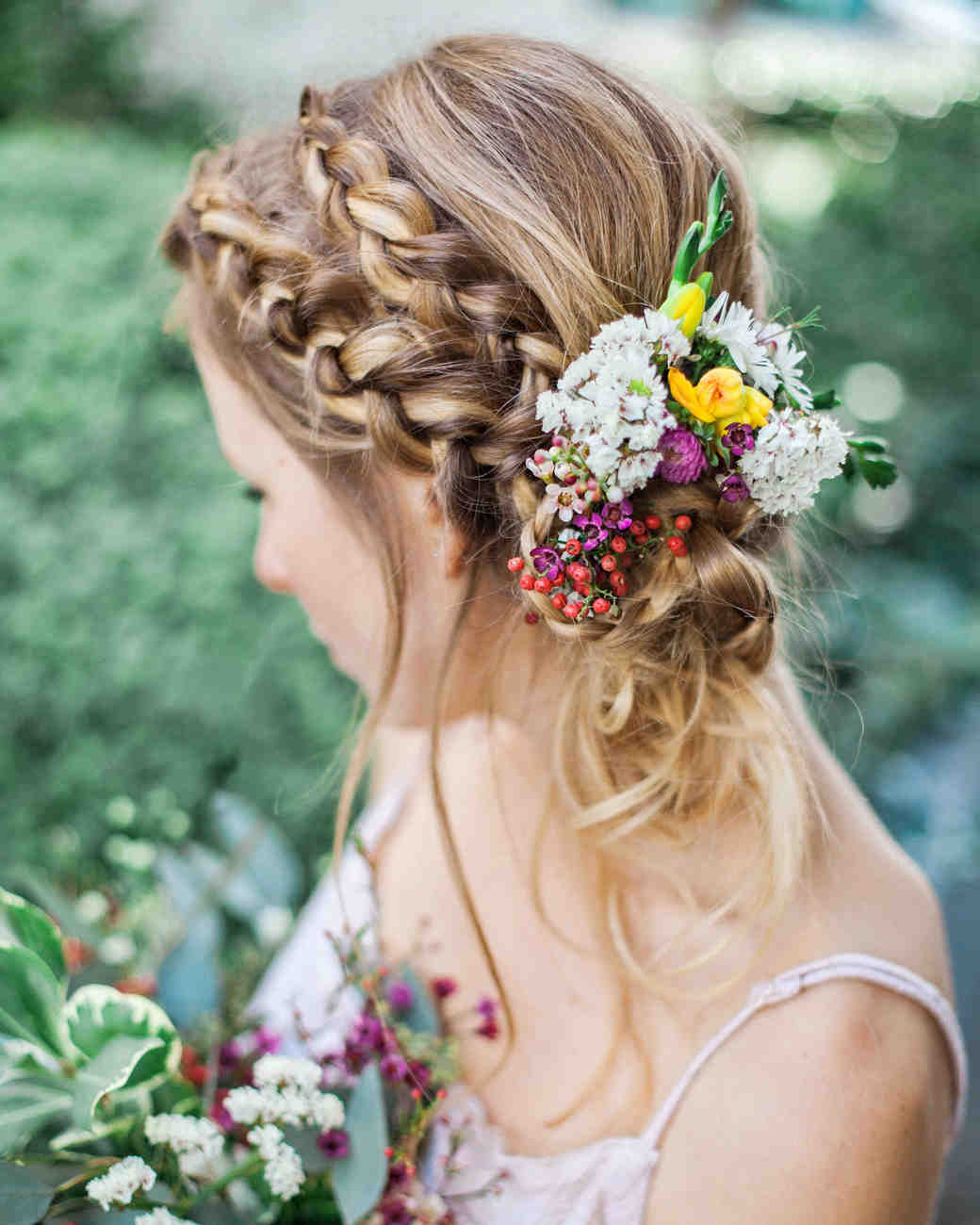 Wedding Hairstyle With Braids: 10 Ways To Upgrade The Wedding Braid