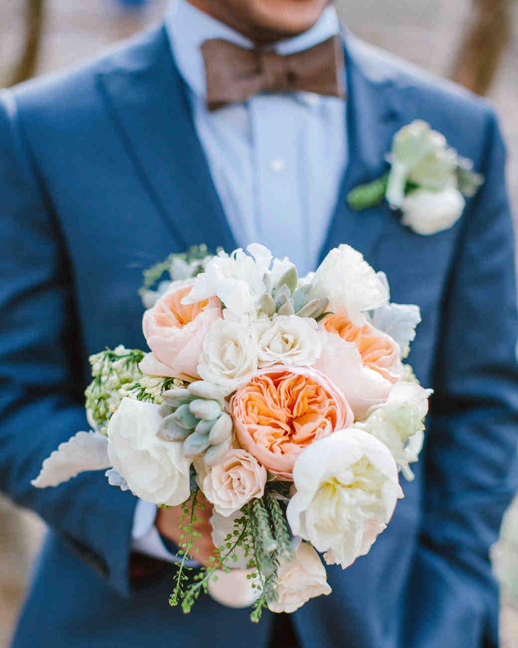 24 succulent wedding bouquets martha stewart weddings junglespirit Choice Image