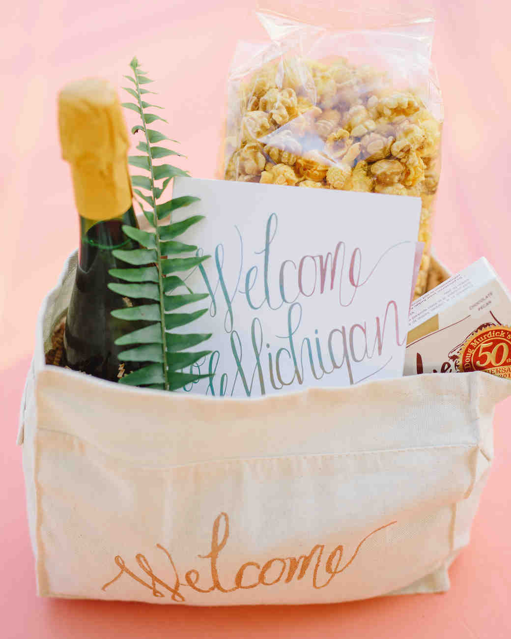 Welcome To Our Wedding Weekend Gift Bags: Fresh Ideas For Your Wedding Weekend