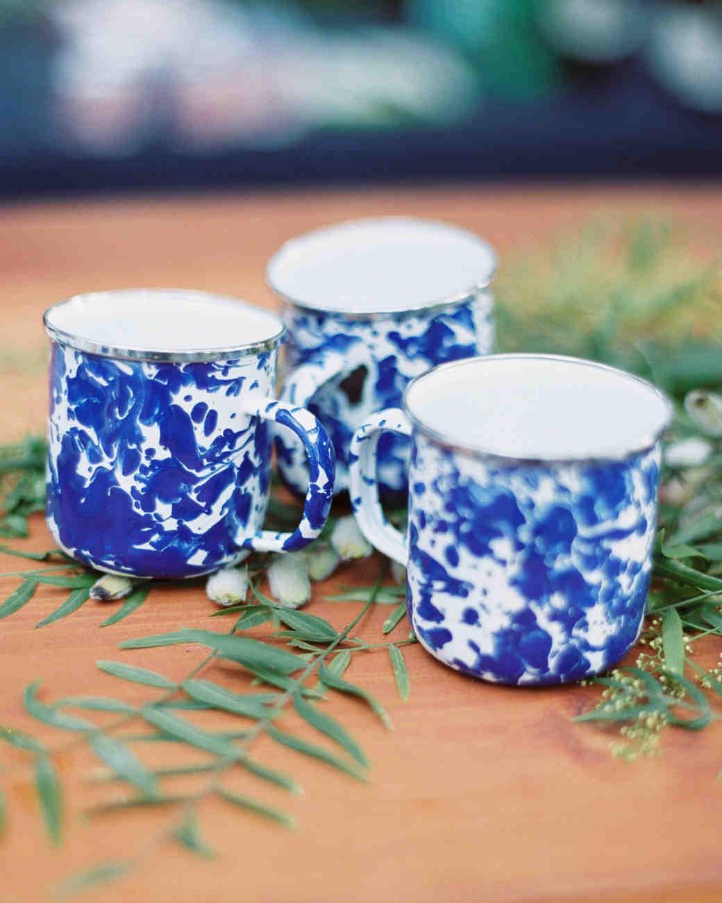 blue marbled mugs