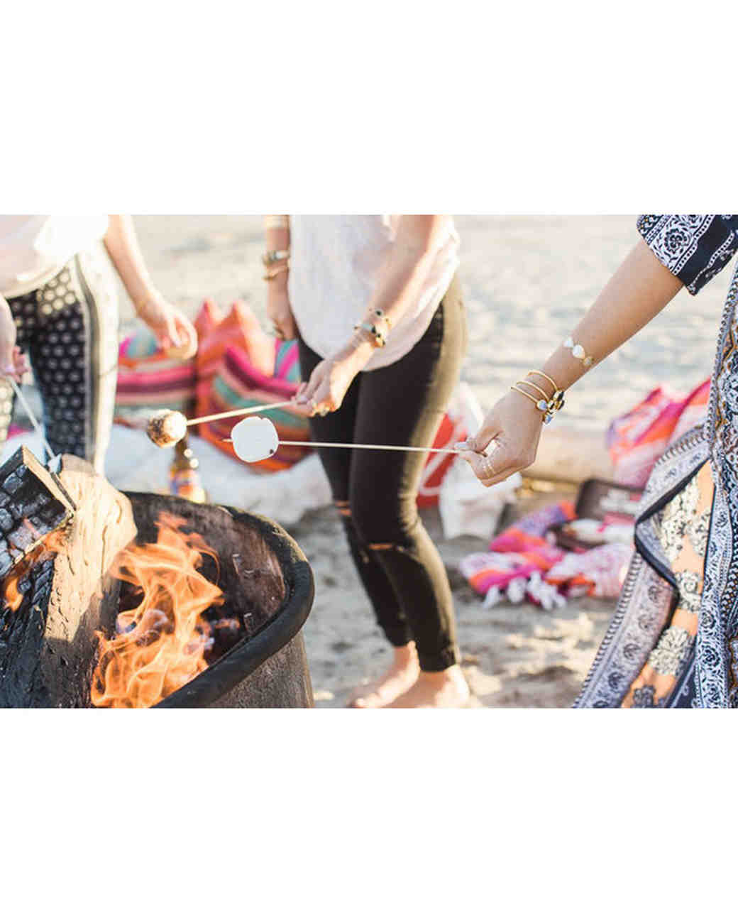 Beach Bonfire Bachelorette Party Theme