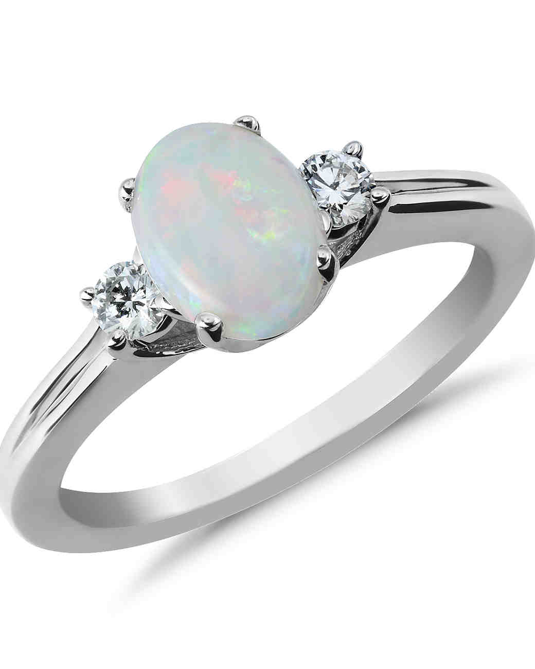 Opal Engagement Rings 25 Unique Opal Engagem...
